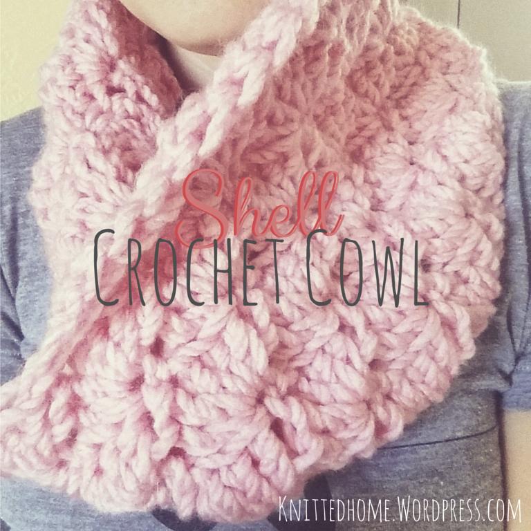 Shell Crochet Cowl on Instagram   knittedhome.wordpress.com