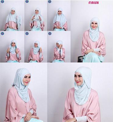 Tutorial Hijab Zaskia Adya Mecca