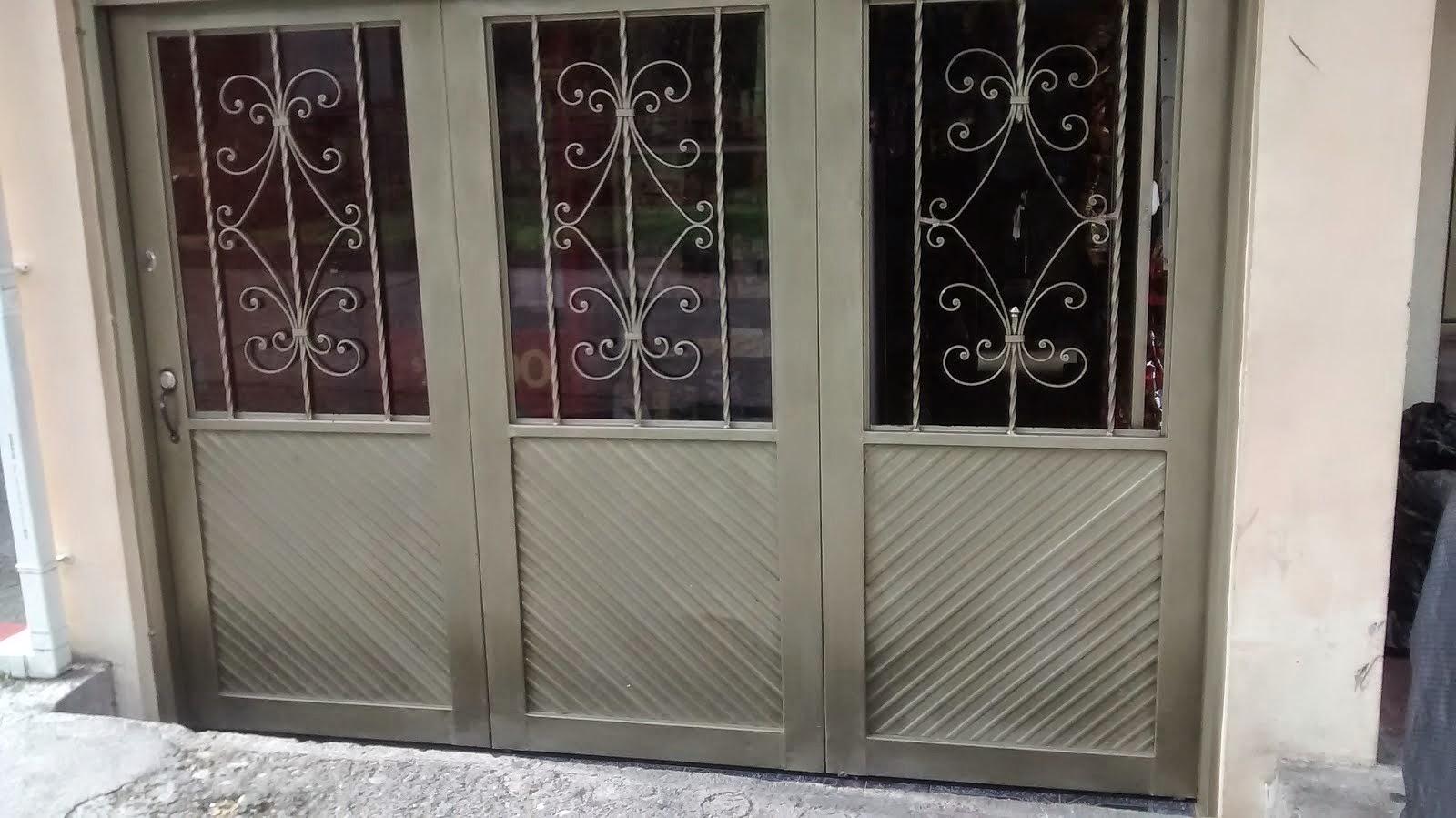 Puertas para metalicos affordable portn garaje metlico for Puertas metalicas