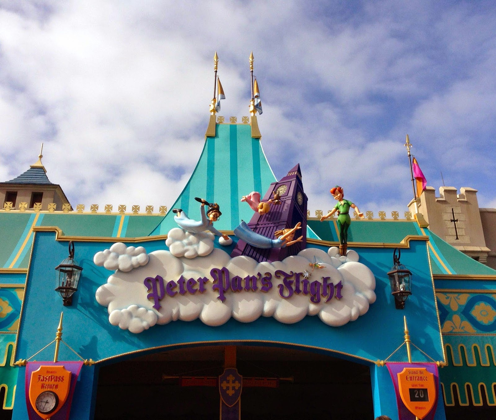 Morgan's Milieu | You Can Fly Too at Peter Pan's Flight in Walt Disney World