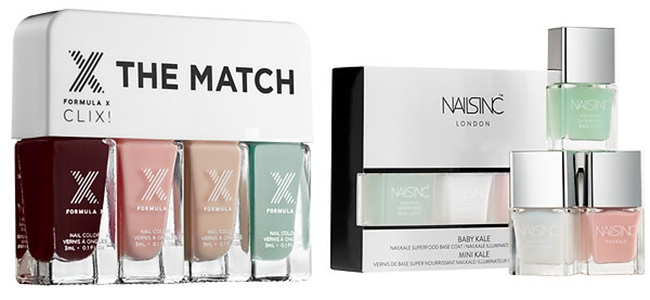 "SPRING 2015 MAKEUP: 30 Fabulous New Releases.Prolece 2015, sminka, novo na trzistu.New from Sephora.Formula X ""The match CLIX"".Nails INC ""Baby Kale collection"""