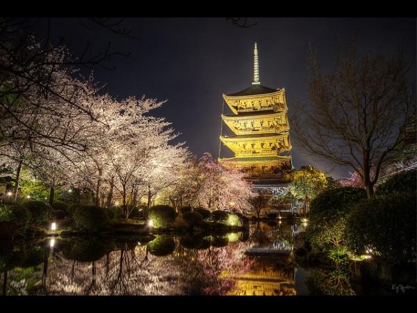 Toji, Kyoto by Kaj Bjuman