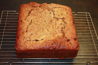 Image of huge Apple and Raisin cake