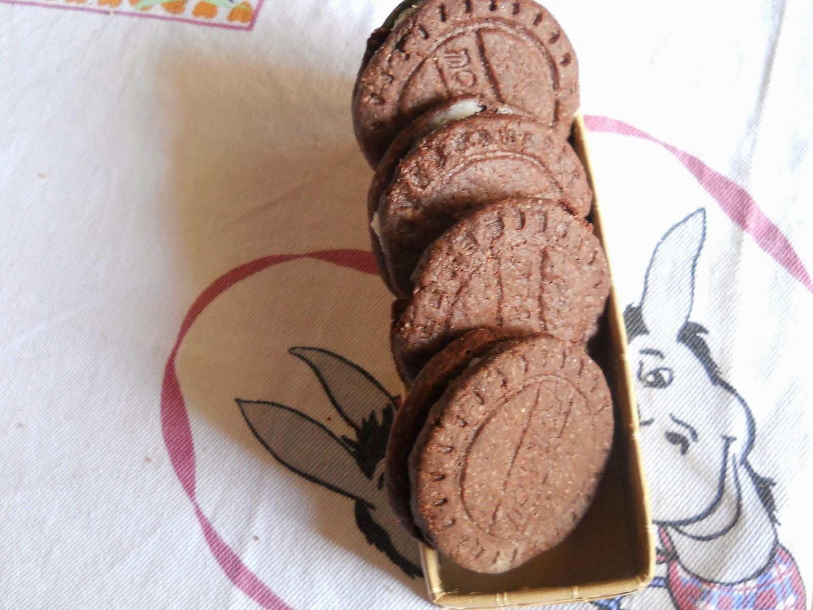 biscotti oreo home made