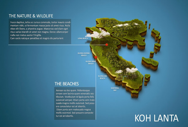 Map Of Lanta Island