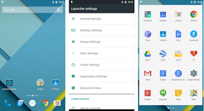 Download Lollipop Launcher Plus 1.2.3 APK