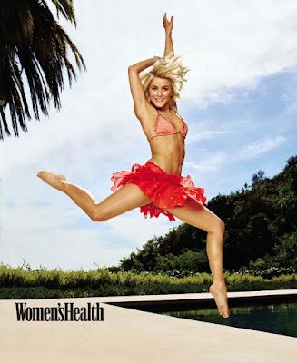 Julianne Hough sexy bikini Women's Health Magazine July August 2015 photoshoot