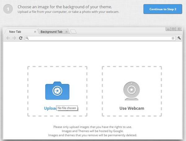How to Make Your Own Google Chrome Theme | Meerabai
