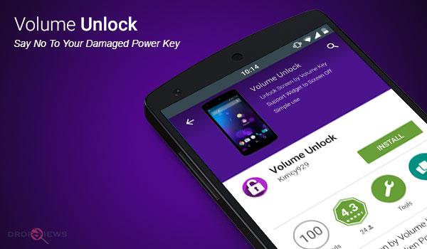 Volume Unlock App