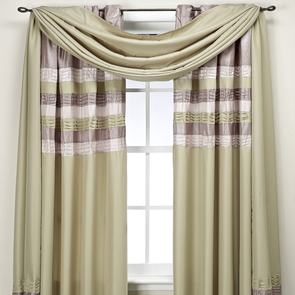 Contemporary window treatments panels 2011 home interiors Contemporary drapes window treatments