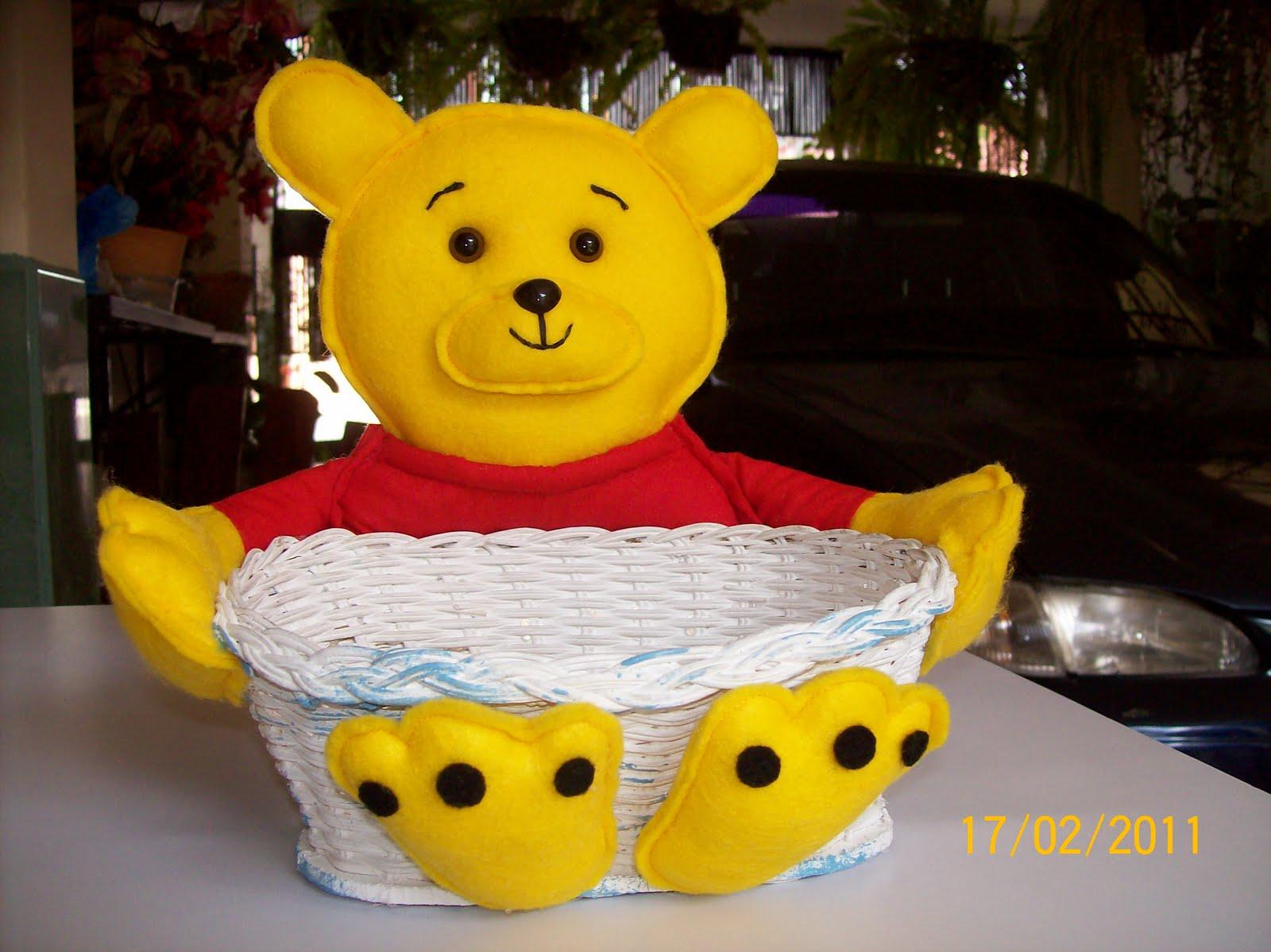 Cortina Baño Winnie Pooh:Canasta De Regalo Para Bebe