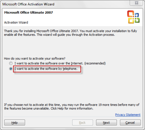 2007 microsoft office system activation key