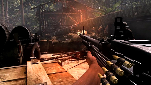 Rambo - The Video Game screenshot 1