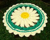Napperon em Flor Amarela