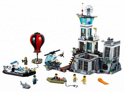 TOYS : JUGUETES - LEGO City  60130 La Isla de la Prisión | Prison Island  Producto Oficial 2016 | Piezas: 754 | Edad: 6-12 años  Comprar en Amazon España & buy Amazon USA