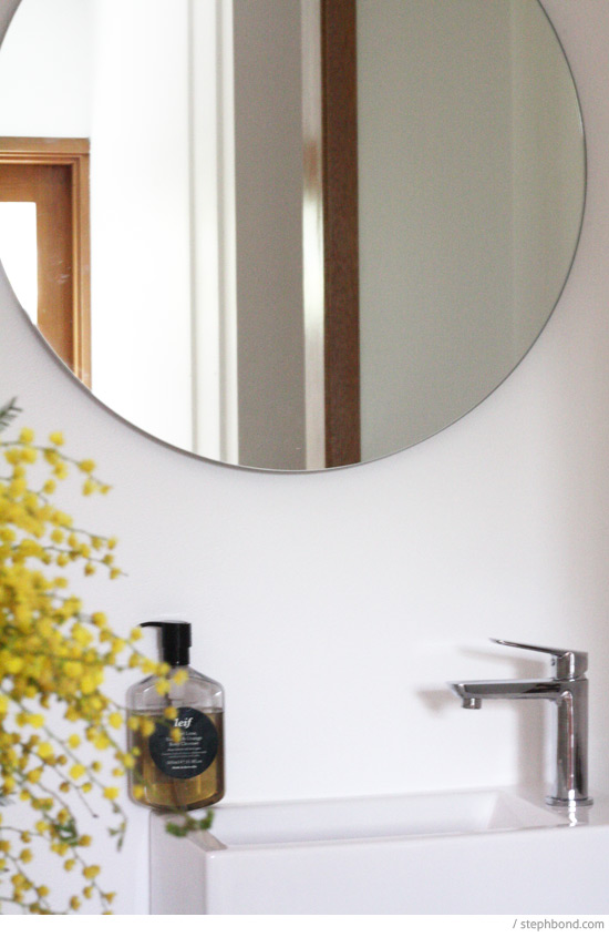 Creative Milli Wall Mounted Pivot Arm Mirror From Reece