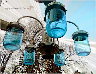 DIY Mason Jar outdoor lighting, DIY Mason Jar light fixture