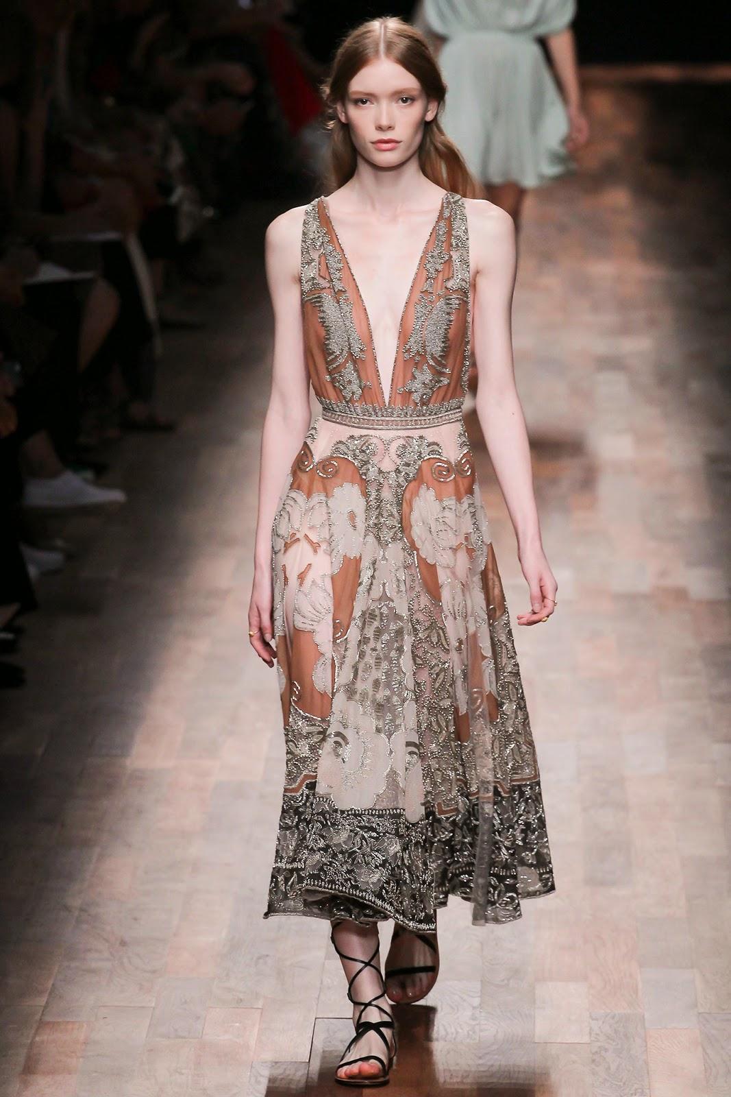 valentino 2015 summer 2016 trend women dress81 Valentino 2015 samling, våren sommaren 2016 Valentino klänning modeller, Valentino kväll klänning nya säsongen kvinnors kjolar modeller