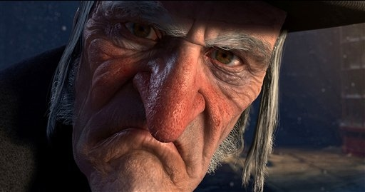 Scrooge A Christmas Carol 2009 animatedfilmreviews.blogspot.com
