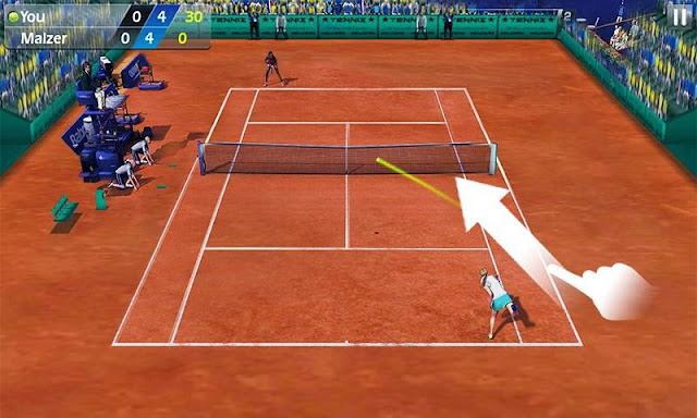 Fiske Tenisi - Tennis 3D Android Apk resimi 5