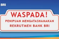 JENJANG KARIR DI BANK BRI (PT. Bank Rakyat Indonesia)