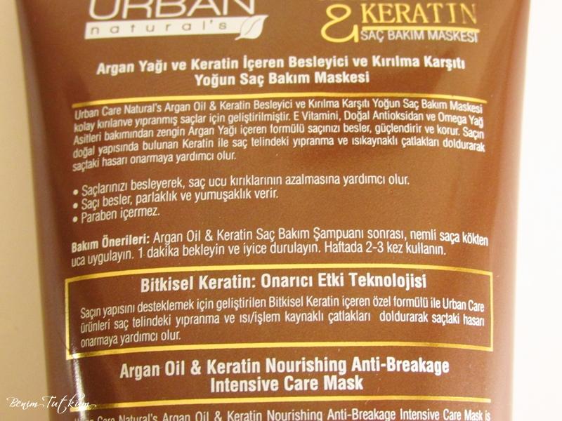 Urban Care Argan Oil & Keratin Saç Bakım Maskesi