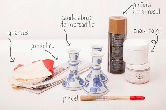 DIY: pintar figurillas de cerámica