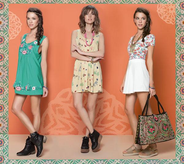 Vestidos y faldas de moda verano 2015 Rimmel.