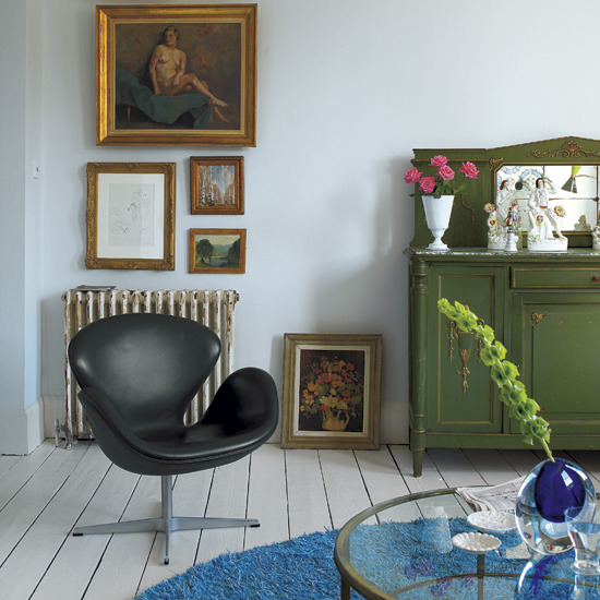 New home interior design take a tour around a victorian for Victorian terrace living room ideas