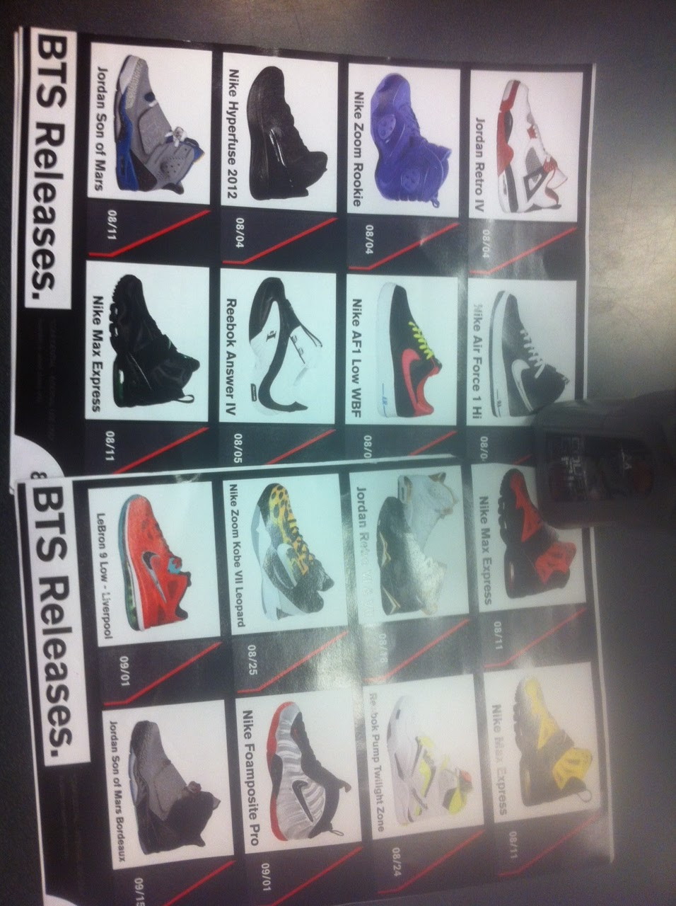 "> FootLocker ""Back To School"" Release Calendar - Photo posted in Kicks @ BX  (Sneakers & Clothing) 