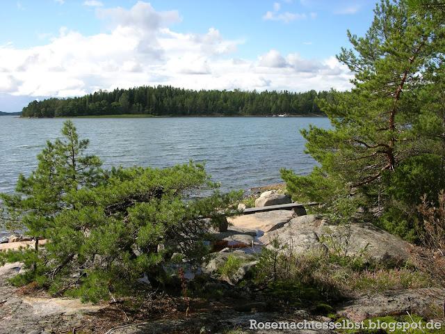 Finnland Sommer Schären