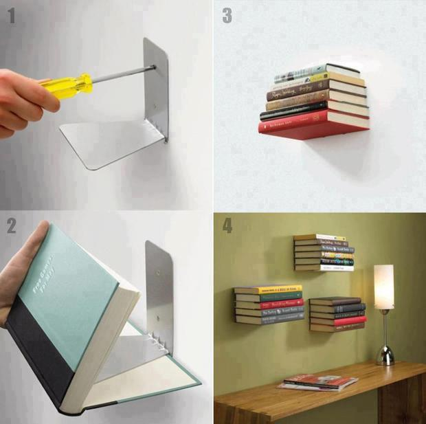 Creative BookShelf Ideas, Uniqey Design for BookShelves