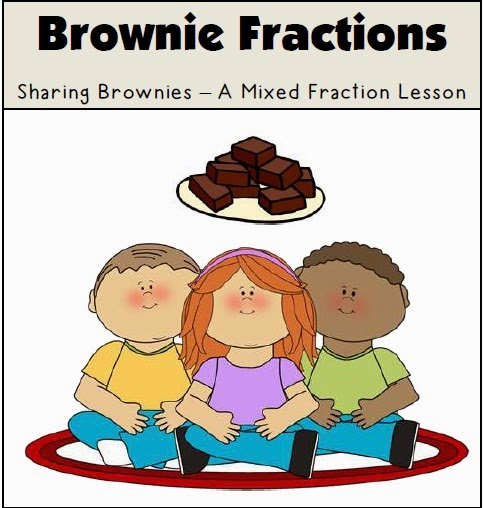 Freebie! Brownie Fractions