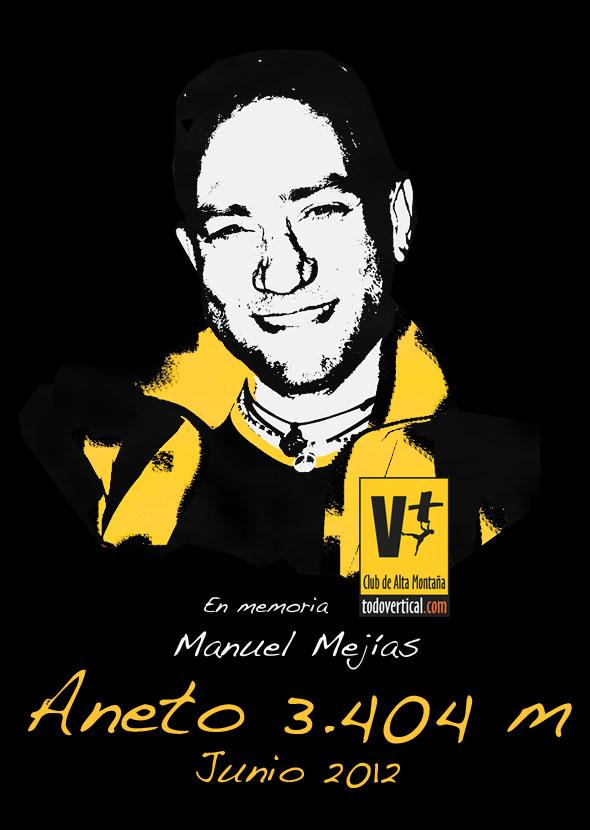 El pasado 25 de noviembre rendimos Homenaje a Manuel Mejías con el estreno del cortometraje Música para un montañero