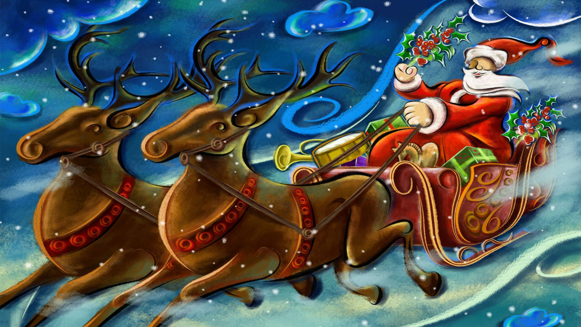Christmas Wallpapers - Free Christmas 2012 Santa Claus HD ...