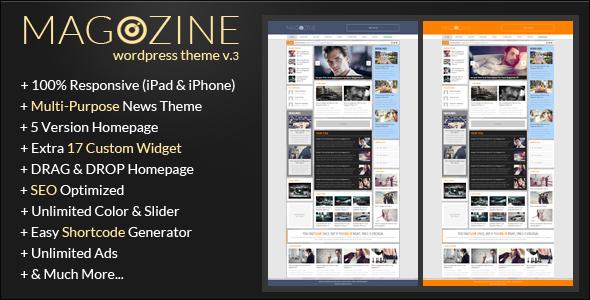 Magazine - WordPress Responsive Theme