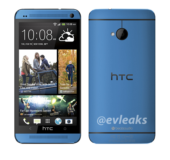 Blue Colour HTC One