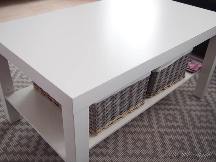 Ikea hack DIY lankkupöytä  In the little cottage