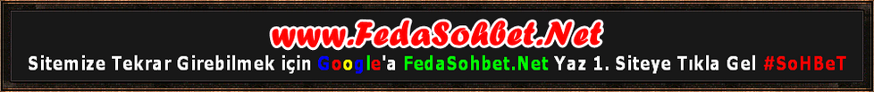 Feda Sohbet