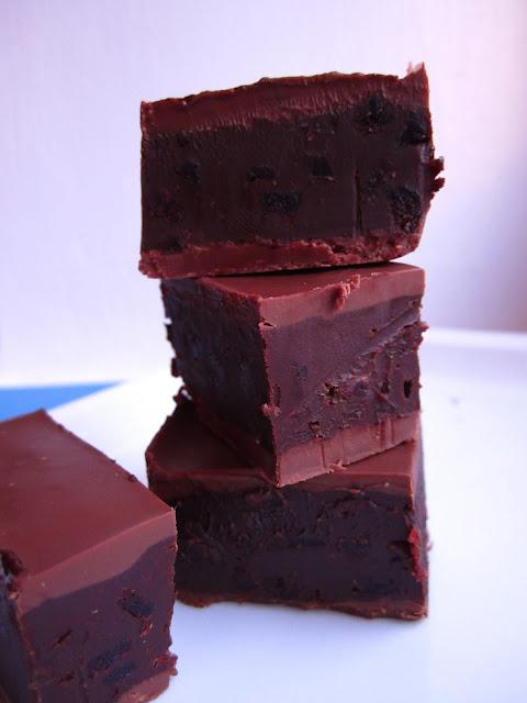 Rezept für Schokolade mit Cranberries