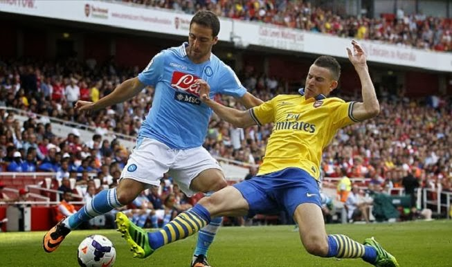 Arsenal vs Napoli Champions League October 1 2013