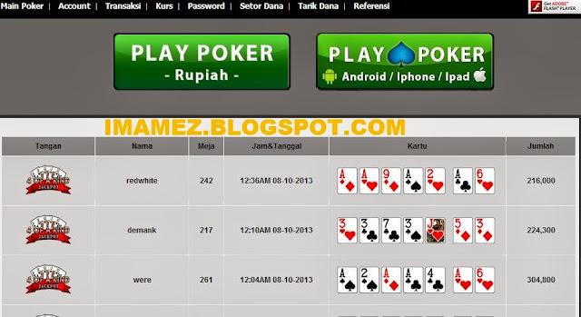 itupoker.com Agen Poker Online Indonesia Terpercaya