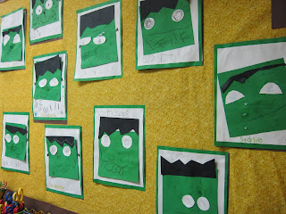 Frankenstein shape activity