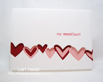 My Sweetheart-designed by Lori Tecler-Inking Aloud-stamps and dies from My Favorite Things