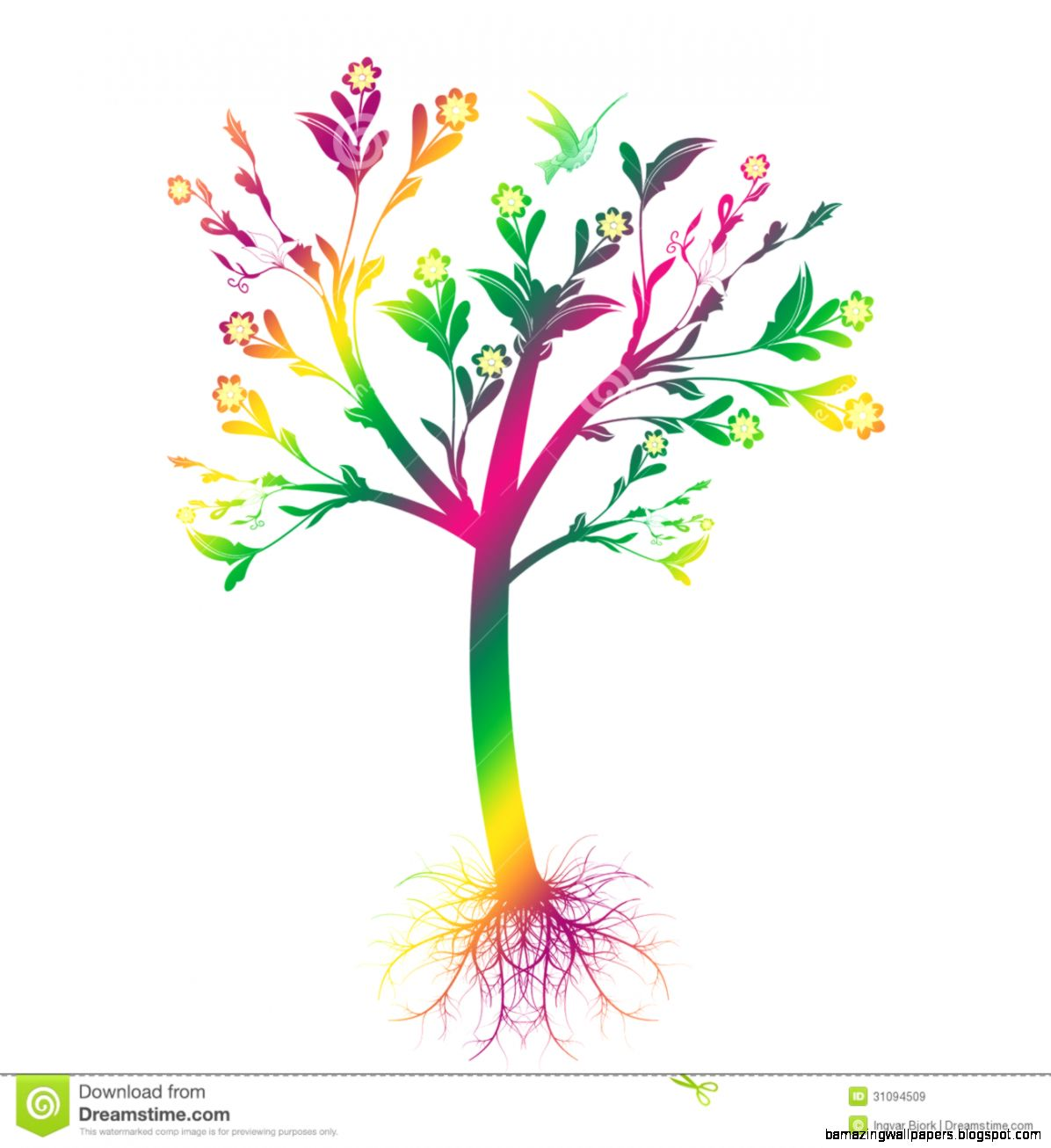 Art Tree Royalty Free Stock Images   Image 31094509