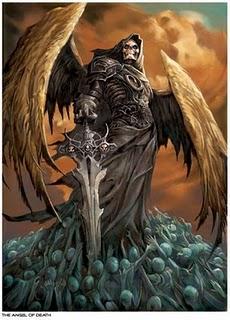 Wujud Malaikat Izrail, Sang  Malaikat Pencabut Nyawa