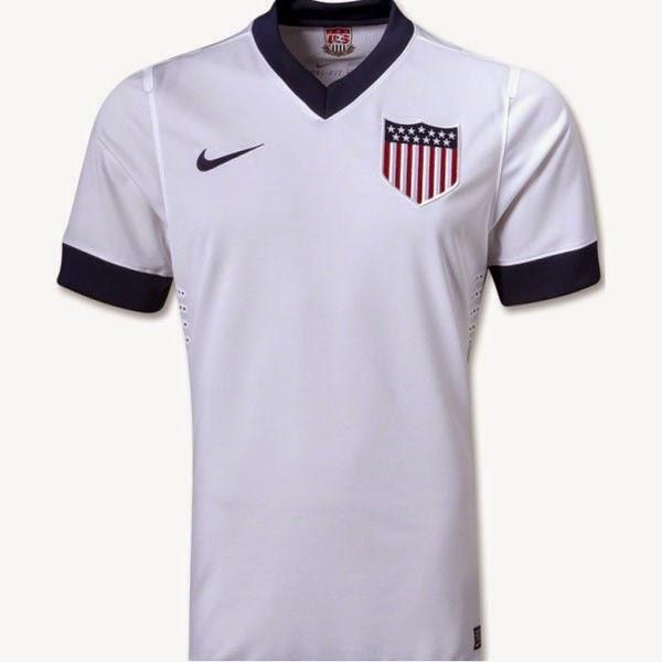 Kostum Timnas Amerika Serikat Piala Dunia 2014