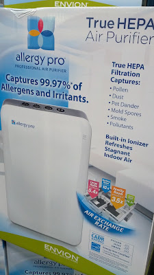 Envion Allergy Pro 450 True HEPA Filtration Professional Air Purifier  if you suffer from allergies