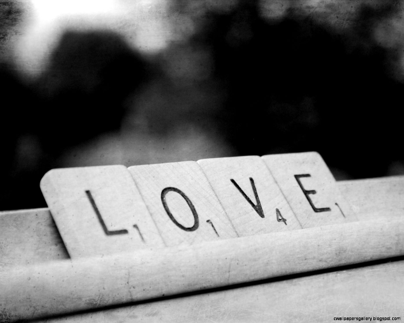 Love Print Black White Photography Letters by KimberosePhotography