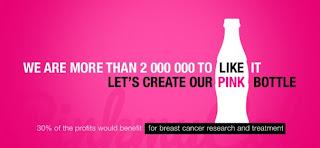 Pink My Cola : une bouteille rose contre le cancer du sein